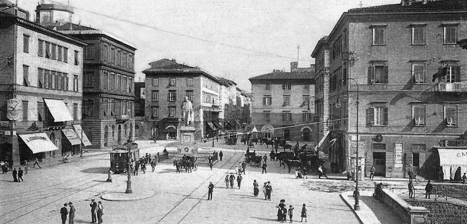 Piazza Cavour - 1922